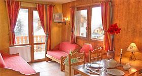Appartement Beispiel Les Balcons Le Haut