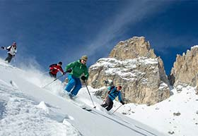 Skisafari Dolomiten