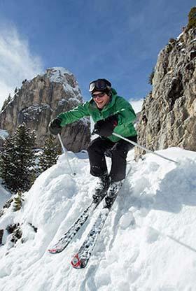 Unterkunft: Dolomiten Ski-Safari
