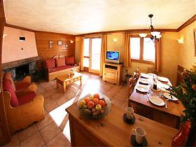 Appartement im Chalet des Neiges Hermine