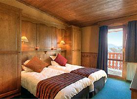 Doppelzimmer im Les Balcons