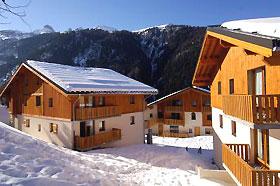 Unterkunft: Skiurlaub Les Chalets de la...
