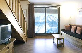 Les Terrasses de la Toussuire Komfortappartement