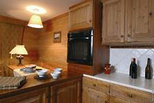 Küche im Deluxe Appartement