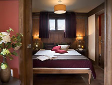 Hameau de Kashmir Schlafzimmer