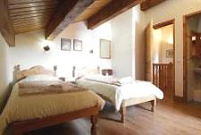 Schlafzimmer im Les Montagnettes
