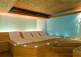 moderne Sauna im Sportclub Thuiner