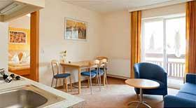 Zimmerbeispiel Appartement im Sportclub am Wilden Kaiser