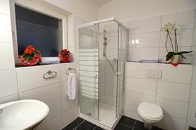 Badezimmer im Sportclub Zillertal