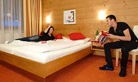 Zimmerbeispiel im Sportclub Zillertal