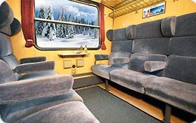 Sitzwagen Schnee-Express