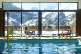 Le Hameau de Valloire: Schwimmbad