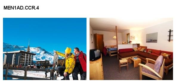 Unterkunft: Ferienwohnung MEN1AD.CCR.4