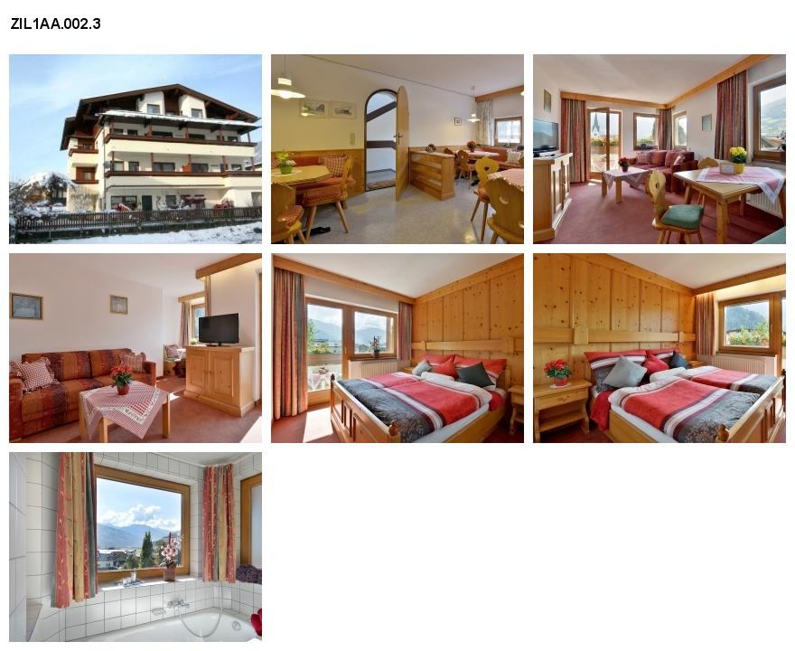 Unterkunft: Ferienwohnung ZIL1AA.002.3