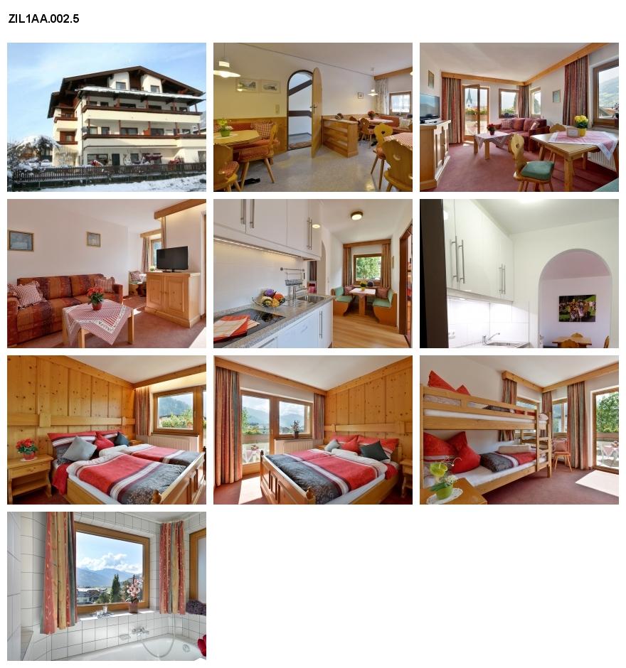 Unterkunft: Ferienwohnung ZIL1AA.002.5