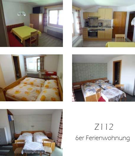 Unterkunft: Ferienwohnung Z112.2