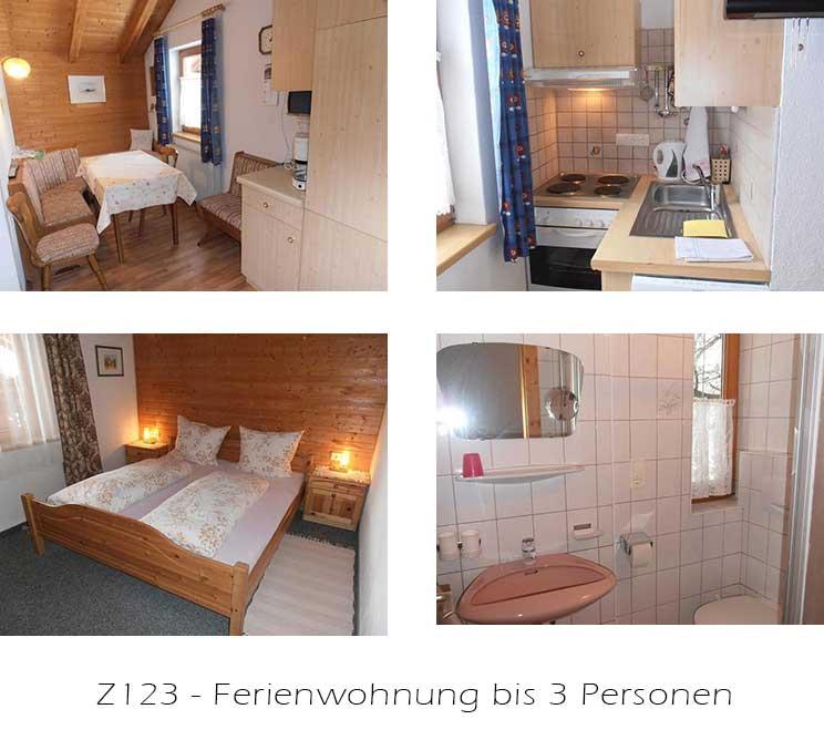 Unterkunft: Ferienwohnung Z123A