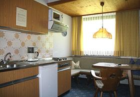 Küchenzeile im Appartementhaus Zell am Ziller