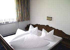 Doppelzimmer im Appartementhaus Zell am Ziller