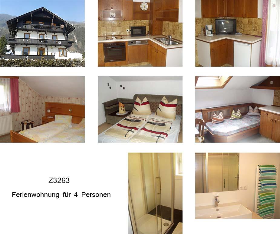 Unterkunft: Ferienwohnung Z3263.1