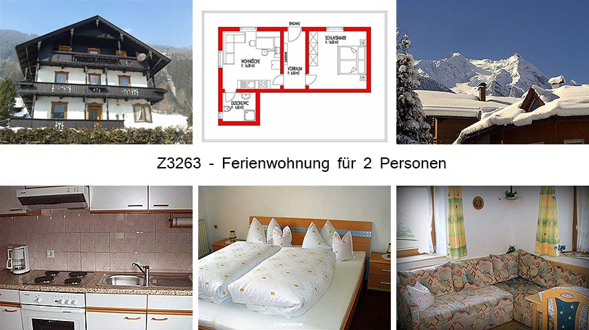 Unterkunft: Ferienwohnung Z3263.2