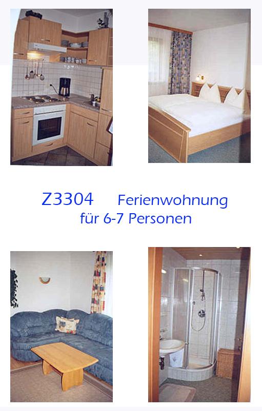 Unterkunft: Ferienwohnung Z3304