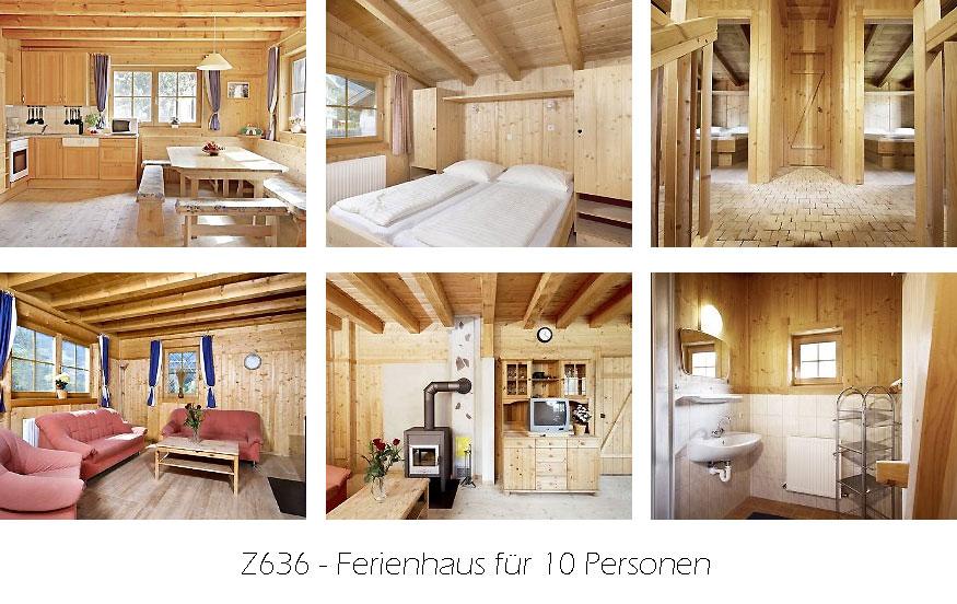 Unterkunft: Ferienhaus Z636
