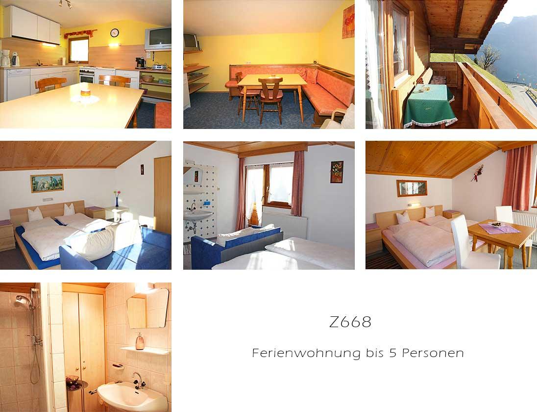 Unterkunft: Ferienwohnung Z668.1