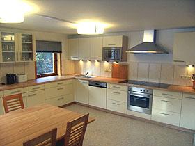 moderne Küche Gletscher Haus Tux