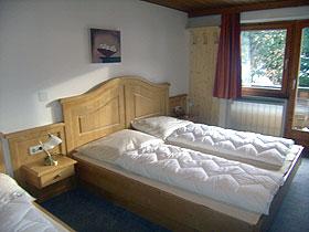 Doppelzimmer Dreibettzimmer Gletscher Haus Tux