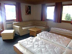 Wohn-/Schlafzimmer im Obergeschoss