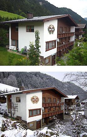Unterkunft: Ferienhaus und...